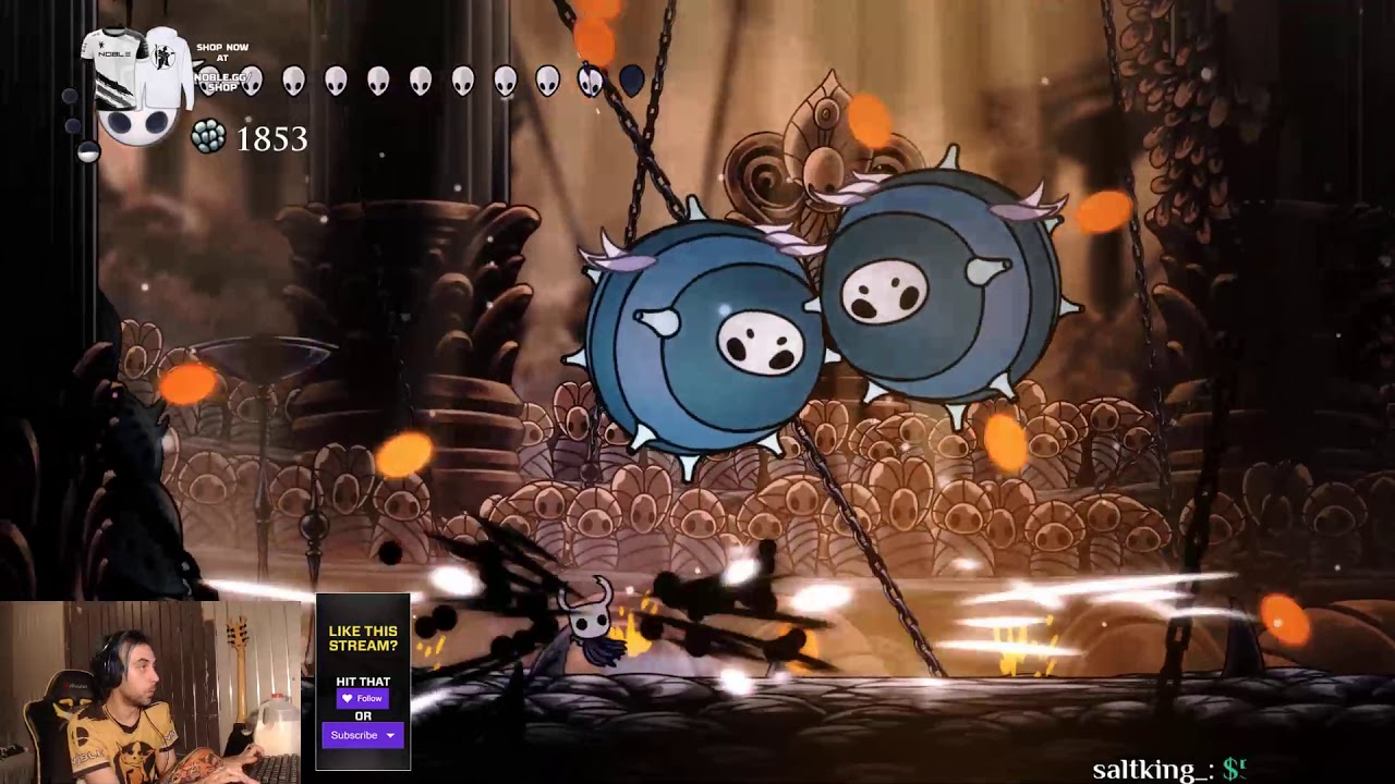 Completing Pantheon 5 Hollow Knight