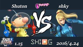 ウメブラ22 LB7 Shuton vs shky / UMEBURA22 スマブラWiiU 大会