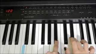 Piano tutorial Rhinestone eyes Gorillaz ( sheet music in description)