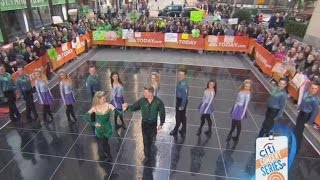 Riverdance St Patricks Day Performance on NBC Today Show