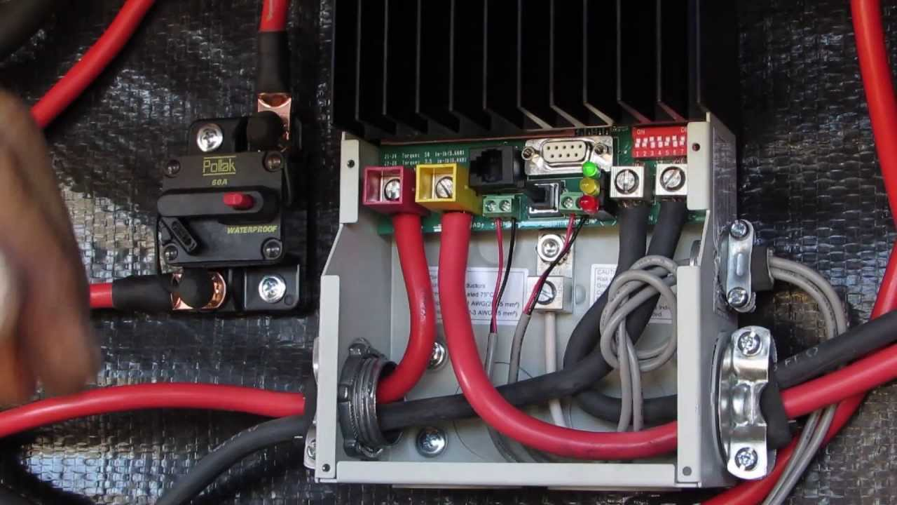 Solar Controller Install MorningStar TriStar 45 amp PWM