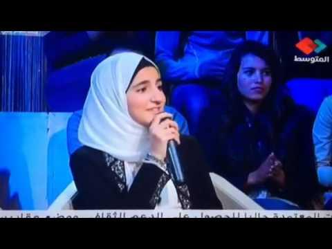 ديمة بشار تنشد عيوني تشتاقلو في برنامج ساعة بساعة