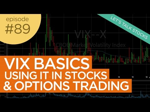 Ep 89: Using the VIX (Fear Index) in Trading Stocks and Options