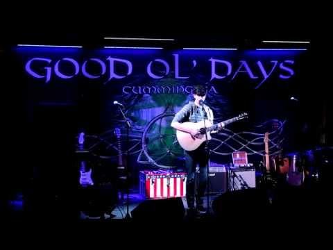 Mark Stokes with an Ed Sheeran Mashup Live at Good Ol Days