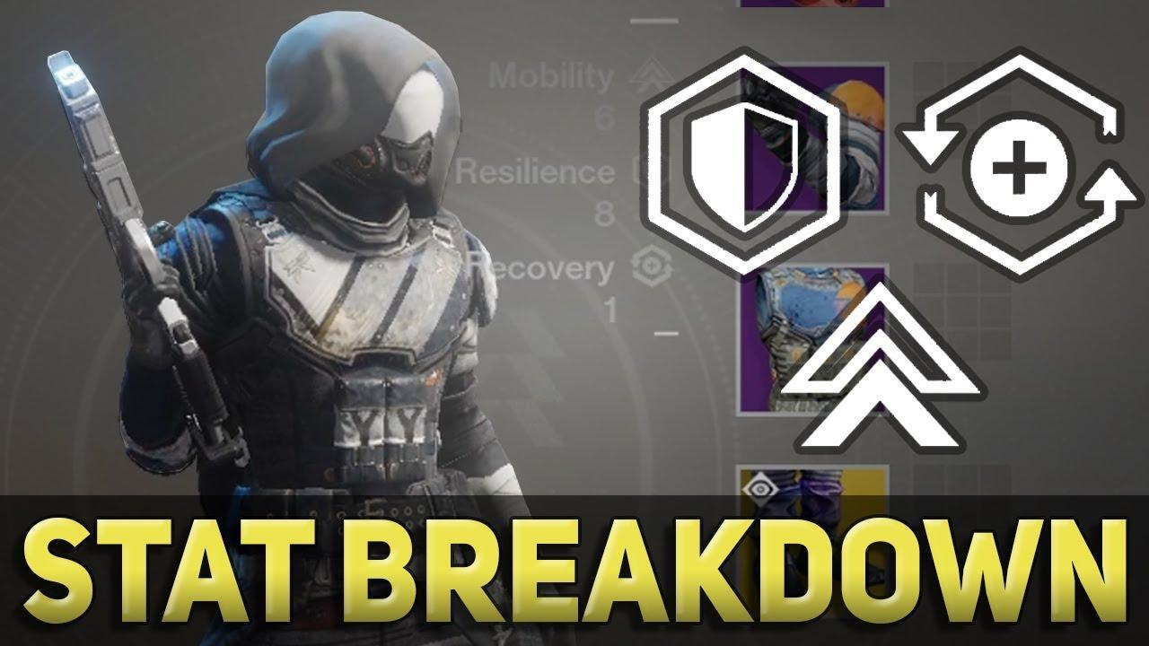 Recovery vs Resilience vs Mobility - Destiny 2 Stat Breakdown & Build Guide  (Season 2)