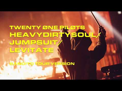 Bandito Tour Full Intro + Jumpsuit & Levitate (Heavydirtysoul) | twenty one pilots