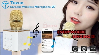 review microphone bluetooth tuxun q7