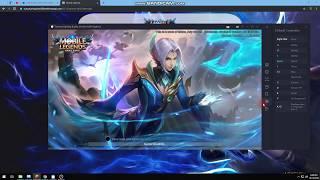Hack Diamonds amp Skin Mobile legends Unlimited For Emulator !!