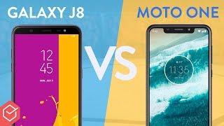 Motorola ONE vs Galaxy J8 - qual melhor? | Comparativo!