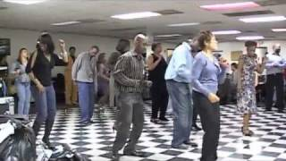 Old School James Brown Super Bad Line Dance