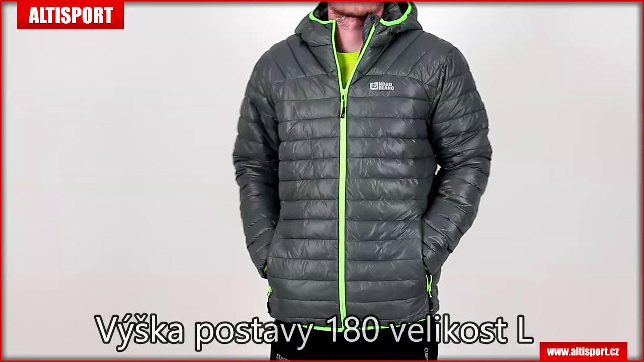 pánská zimní bunda nordblanc quilt nbwjm6410 šedá - YouTube 9309127ff9f