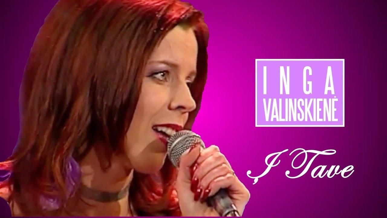 Inga Valinskienė - Į Tave (Official Live Video). Geriausia Lietuviška Muzika