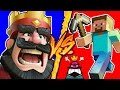 Luis Fonsi - Despacito ft. Daddy Yankee (PARODIA) - Clash Royale VS Minecraft
