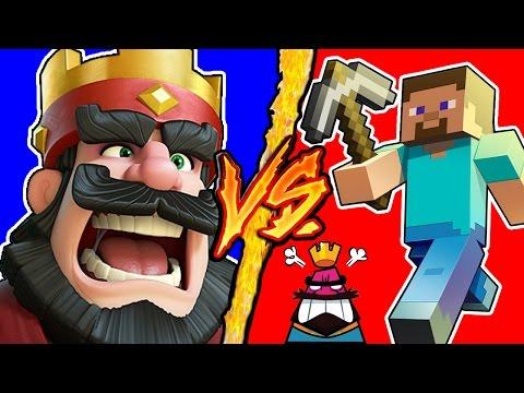Clash Royale VS Minecraft - Battaglia Rap Epica - Manuel Aski