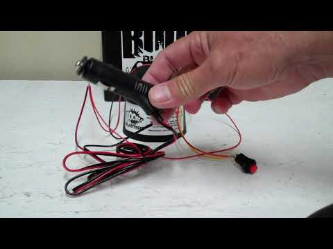 How To Use Your Cigarette Lighter Adapter With Boom Blasters Trigger Horns