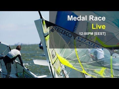 49er Sailing LIVE Replay - 2014 Seiko Europeans Day 6 - Theatre Style Races