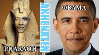 SHOCKING! Obama Hints He Is Clone of Pharaoh Akhenaten 666 (WATCH THIS UNDENIABLE PROOF!)