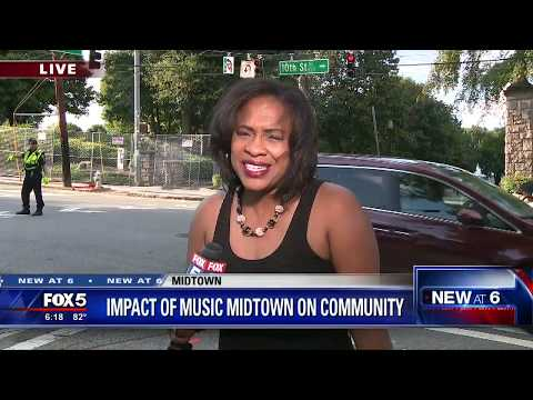 Impact of Music Midtown on community