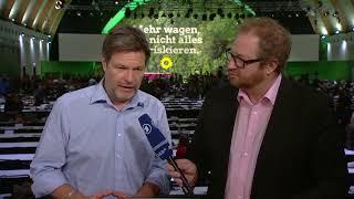 Grünen-Parteitag in Bielefeld: Ihre Fragen an Robert Habeck