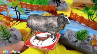 Learn Animals Names and Sounds | 4D Animals for Kids | Fun Toddler Learn Animal