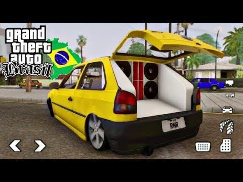 SAIU! GTA BRASIL V3 LITE 200MB PARA CELULARES FRACOS! (APK+DATA)