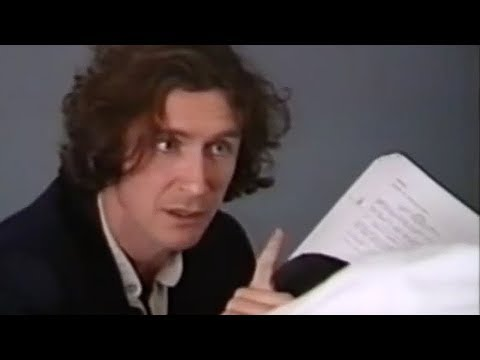 Paul McGann's Doctor Who audition tape   Doctor Who