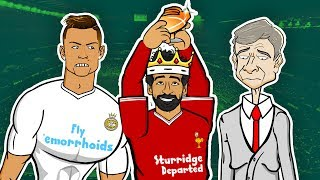 Salah Wins The EPL Golden Boot ► 📺GOGGLE IN THE BOX 📺 442oons ft. Salah, Ronaldo, & Wenger!
