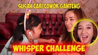 Whisper Challenge . beneran budeg ternyata!! Marisha Chacha