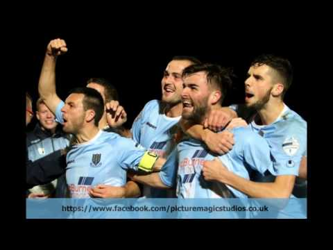 Ballymena United road to the final - 2016/17