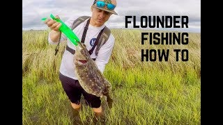 HOW TO CATCH FLOUNDER! EVERYTHING YOU NEED TO KNOW