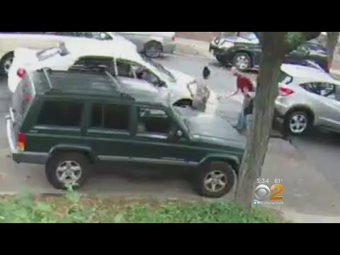 Car Stolen After Accident In Ozone Park, Queens