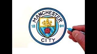 How to Draw the Manchester City F.C. Logo