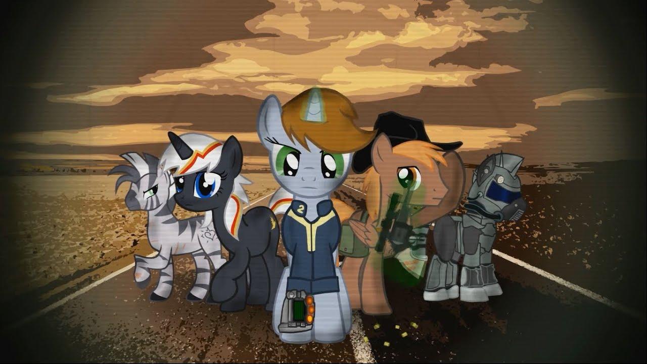 Equestria Girls Wallpaper Fallout Equestria Series Intro Youtube