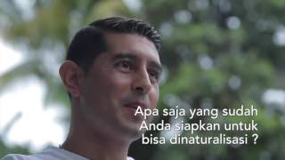 Download Video Curhat Esteban Vizcarra yang Ingin Jadi WNI MP3 3GP MP4