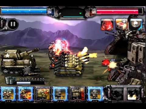 Army vs Zombie game play video
