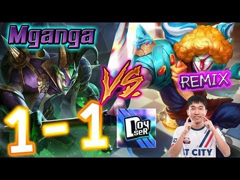 ROV: 1-1 Mganga ถอดRune กับ IBEC Remix #Doyser #Mganga