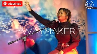 """Christ Embassy Worship - Moments of Worship with Jennel Divine singing """"WAYMAKER"""" by Sinach"""