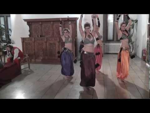 FEMINA FORTIS tribal belly dance, Noc múzeí a galérií, Zvolenský zámok, 19. 5. 2012