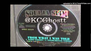 Soulja Slim - From What I Was Told (Official Instrumental) 1998 No Limit Records (Free Download)