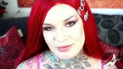 """Sabien Demonia """"QuarantINKED"""" in UK with DOUBLE GG Breasts!!"""