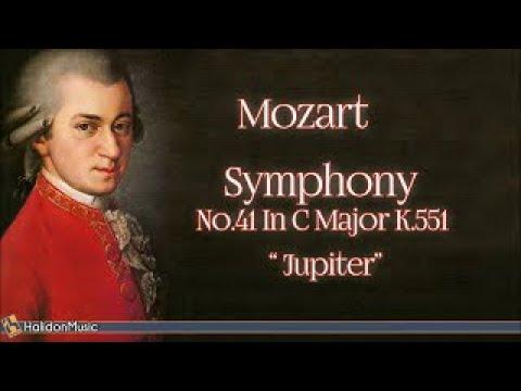 Mozart: Symphony No. 41 in C Major, K. 551