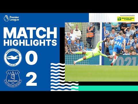 PL Highlights: Albion 0 Everton 2