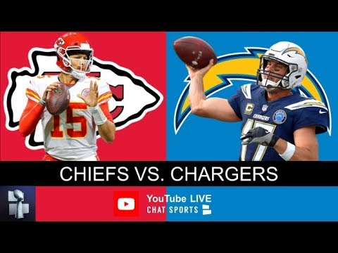 Chiefs Vs. Chargers Live Stream Reaction & Updates On Highlights For NFL Monday Night Football