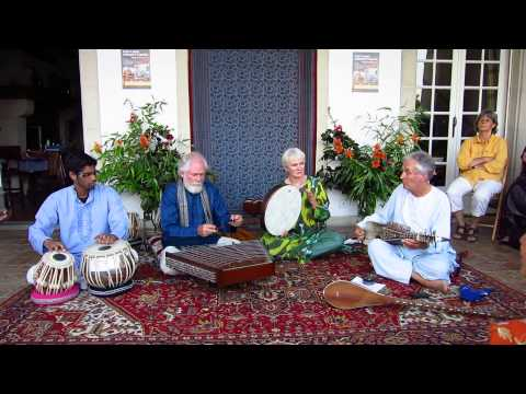 """Traditional Afghan Music on Rubab and Santur - """"Pareshe Jal"""" (The Flight of the Lark)"""