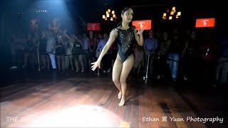 TANNIA CANNARSA Salsa Dance Performance @ THE SALSA ROOM