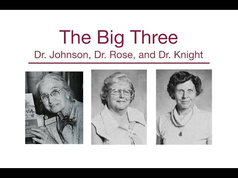 "The Big Three: ""I Would Like Dr. Johnson, Dr. Rose, or Dr. Knight"