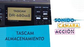 Almacenamiento y tipos de alimentación   Tascam DR-680