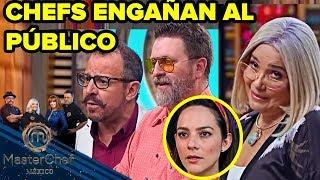 MasterChef México 2018 | LOS CHEFS ENGAÑAN AL PÚBLICO. Capítulo 9