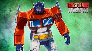 ТРАНСФОРМЕРЫ #3 Автоботы потив МЕГАТРОНА мультик игра для детей про роботов Transformers Devastation