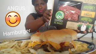 Trying wahlburgers (ANGUS Hamb…